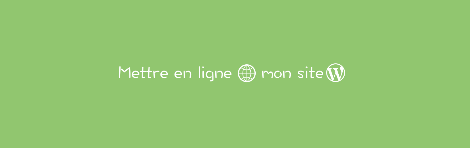 Comment mettre en ligne un site wordpress local geekpress for Site jardinerie en ligne