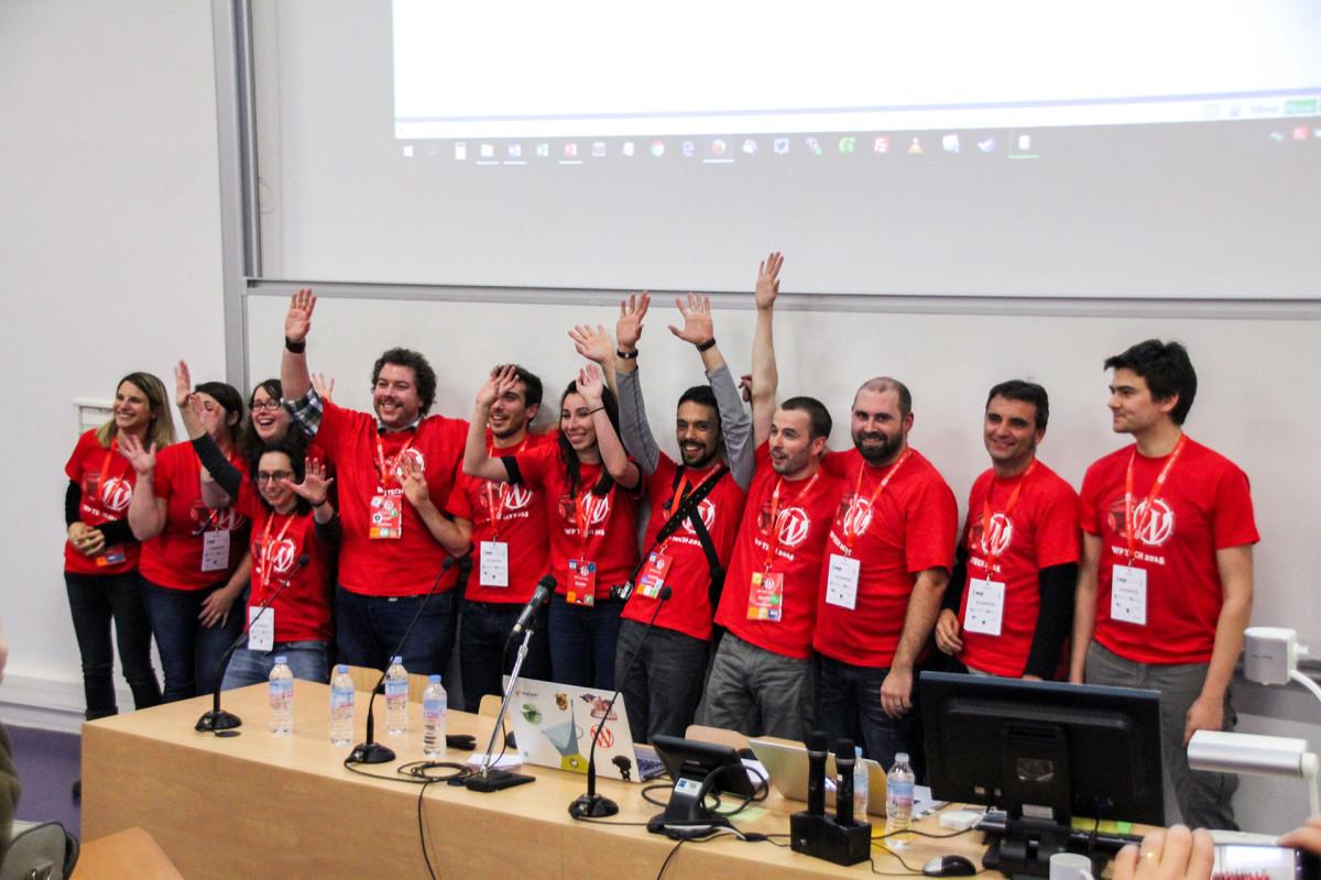 les organisateurs du WP Tech