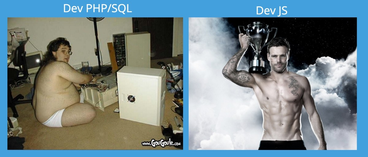 dev php versus dev js