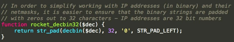 Une fonction d'une librairie externe préfixée dans WP Rocket