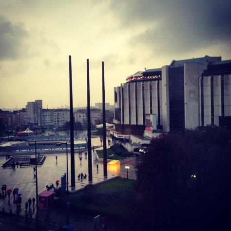 Le centre de conférence à Sofia