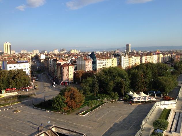 Sofia en bulgarie