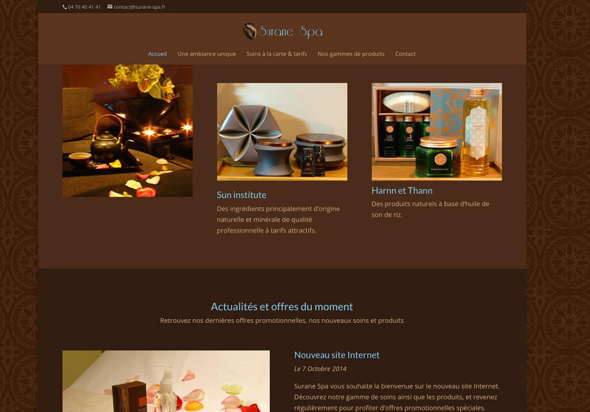 Site WordPress avec Divi