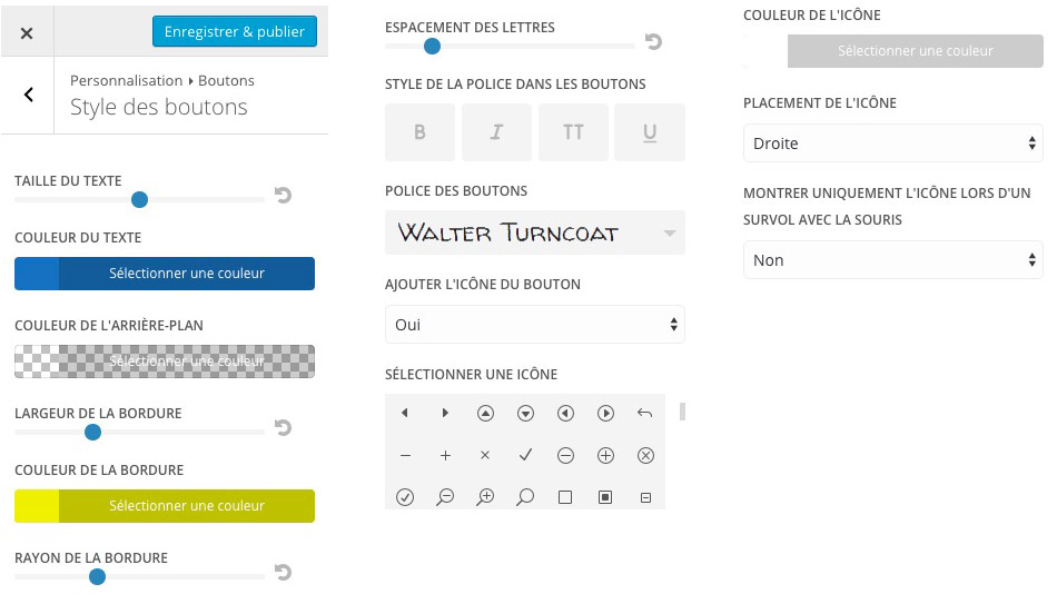 divi buttons custom