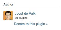 Nombre total de plugins créés par l'auteur