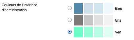 Ajout d'une couleur de thème